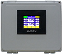 IMPAX TSS-4 Monitor: Front